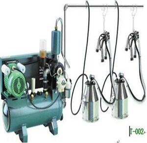 Pail Milking Machine For Cows Double Tank Factory Direct