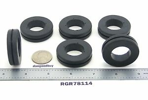 50 Large Rubber Grommets 7 8 Inner Diameter Fits 1 1 4 Panel Hole