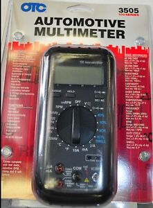 Otc 3505 Automotive Digital Multimeter Kit 100 Series