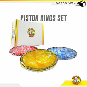 Piston Ring Set Fits 98 09 Dodge Ram 2500 Ram 3500 5 9l L6 Ohv 24v