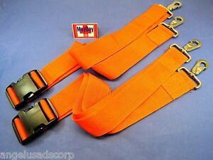 Medical Metal Hook Strap Emergency Spine Board Belt Stretcher Set 2 191 mayday