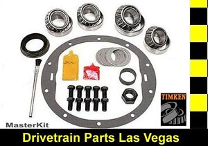 Timken Master Bearing Rebuild Overhaul Kit Chrysler Dodge 11 5 Late Rear End
