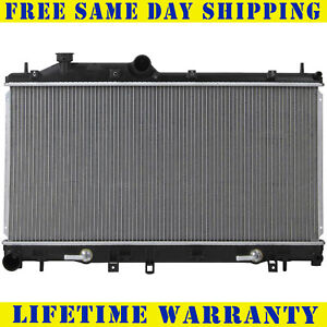 Radiator For 2009 2013 Subaru Forester 2 5l Turbocharged Same Day Shipping