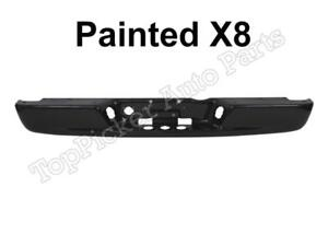 Painted Black Clear X8 Rear Bumper Bar For 02 08 Dodge Ram 1500 03 09 2500 3500