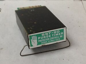 Protection Controls Sst 90 Purge Timer