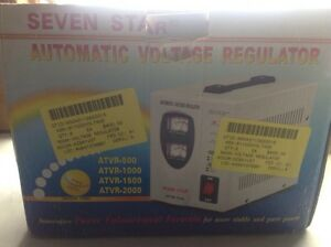 Seven Star Automatic Voltage Regulator Atvr 1500