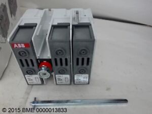 Abb Switch Disconnect 1sca108824r1001 W 3 Contacts Ul248 4 Max 30a