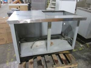 Cabinet W Stainless Steel Top Cut out On Top 49 x34 x36 Send Offer