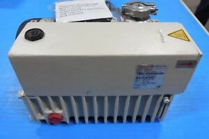 Refurbished Pfeiffer Uno 20 Rotary Vane Vacuum Pump 1hp 15 Cfm 3 Phase 460v 3f