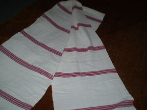 Vintage Hand Woven Towel Selvage