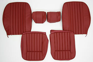 New Jaguar Xke E type S3 Leather Seat Cover Made To Original Specification