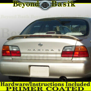 For 1995 1996 1997 1998 1999 Maxima Factory Style Rear Spoiler W Led Primer
