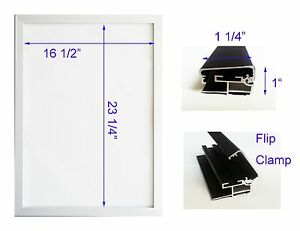 Led Backlit Box Signage Display Board 19 x 26 Silver