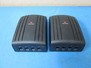 Lot Of 2 Polycom Pvs xx19 q Viewstation Quad Bri 512k