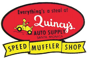 everythings A Steal At Quincy s Auto Supply Santa Monica Speed Muffler Shop