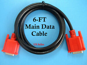Replacement Main Data Cable For Snap On Mt2500 Mtg2500 Modis Scanner Obd1 Obdii