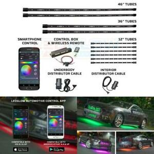 Million Color Smd Led Underbody Light Kit W Bluetooth 6 Interior Lights Ledglow