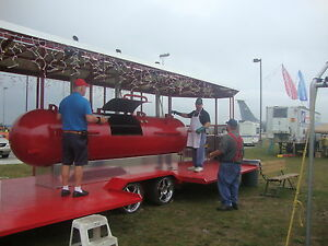 Bbq Smoker Big Boys Trailer Smoker One Of Akind Bbq Smoker Trailer