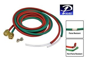 Primo Fire Resistant Twin Hose For Smith Little Torch 8 Ft X 1 8 Id