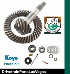Usa Standard Ring Pinion Gear Set 8 5 10 Bolt 3 73 Master Kit Chevy Gm 1970 1999
