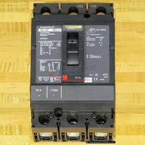 Square D Hdp36070 Circuit Breakers 70 Amp New