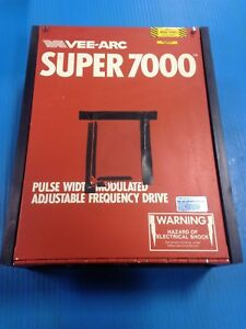 Used Vee arc Super 7000 Adjustable Frequency Drive 922 008 3hp 3e