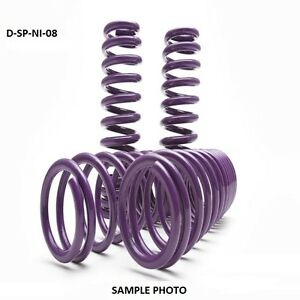 D2 Pro Lowering Springs 1 4 F 1 4 R For 2004 2008 Nissan Maxima D Sp Ni 08