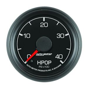 Auto Meter Ford Factory Match Hpop Gauge 0 4000 Psi 8496