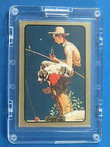 Norman Rockwell Gold Card Artist Proof Coca-Cola Collect-a-Card 1994