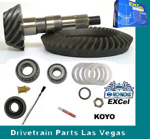 Richmond Excel Chevy Gm 8 5 10 Bolt 3 42 Ring Pinion Gear Set Master Kit 1970 99