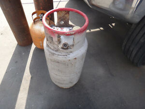 Propane Tanks And 2 Air Cylinders