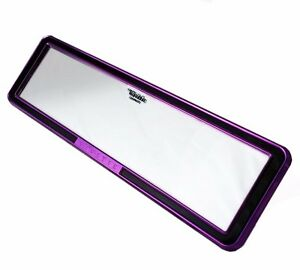 Rear View Mirror Universal Clip On Design Pink Purple Vip Carmate Free Shipping