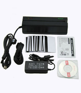 Msr605 Magnetic Stripe Swipe Magstripe Credit Card Reader Writer Encoder Msr206