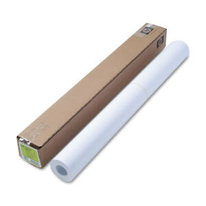 Designjet Bright White Inkjet Paper 4 Mil 36 X 150 Ft White