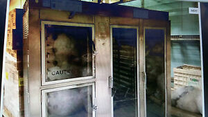 Nuvu Bakery Oven Proofer electric please Read For Location