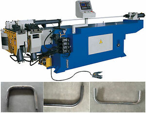 Semi Automatic Mandrel Tube Pipe Bending Machine Bender For 1 1 2 Or 38mm Pipe