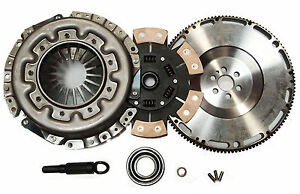 Qsc Stage 3 Clutch Kit Chromoly Flywheel Fits Nissan Skyline Rb20det Rb25det