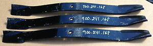 Blades For Sovema Em2 Series 72 Cut Finish Mower Oem Cast Steel Blades