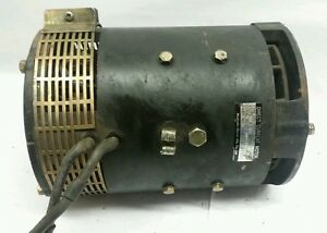 3bb 18 21311 Used Untested Komatsu Direct Current Motor Assembly 45 Volt 00531