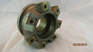 Ingersoll Indexable 4 Face Mill 7 Insert Cha40158r01 Extra Inserts New