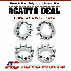 4x2 Wheel Spacers 8 Lug Adapters 8x170 For Ford F250 F350 Super Duty Excursion