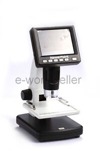 300x Digital Microscope Lcd Dispaly 1200 Times Zoom Electronic Magnifer Camera
