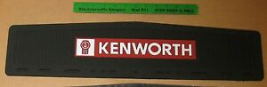 Kenworth Logo Black Front Fender Mudflaps 5 5 X 24 Sold Individually