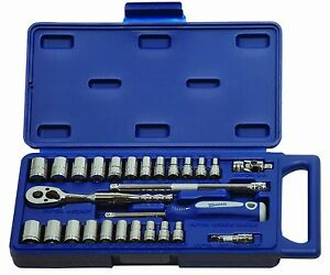 Williams 50661 1 4 inch Drive Socket And Drive Tool Set 27 piece New Free Sh