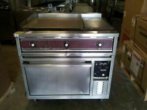 Southbend 36 Electric Double Griddle With Oven