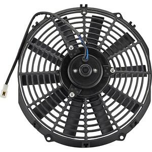 6 Volt Electric Radiator Cooling Fan 14 Inch Dia Push pull 10 Blade