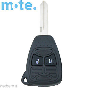 To Suit Chrysler Dodge 300c Calibre Nitro Voyager 2 Button Key Remote Case shell