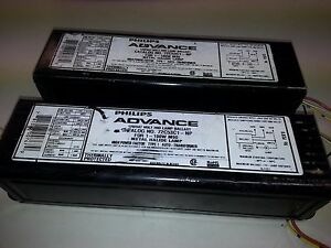 X2 Used Advance Ballast 72c53c1 np 748 Cooper Halo 100w Metal Halide 120 347v