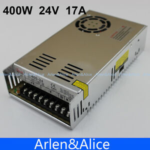 400w 24v 17a Single Output Switching Power Supply Ac To Dc Smps