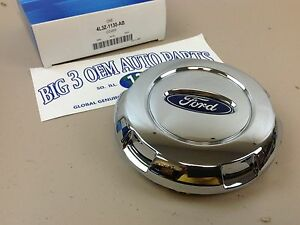 Ford F 150 Expedition 17 Wheel Center Cap Chrome Cover Oem 4l3z 1130 ab